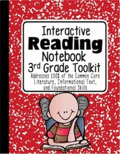 3rd Grade Interactive Reading Notebook {100% Common Core Aligned}