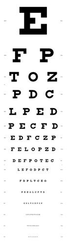 Eye Test Chart...A4 Eye Test Chart. This document was originally designed by Joel Schneider in 2002 and is released in to the public domain.