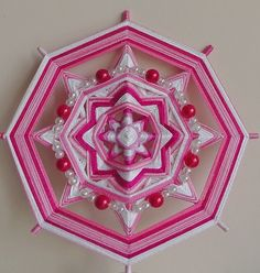 "Mandala Ojo de Dios ""Joys of motherhood"""