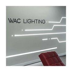 WAC Lighting InvisiLED Symmetrical Recessed Channel   YLighting.com Futuristic Interior, Futuristic Furniture, Futuristic Design, Modern Lighting, Lighting Design, Futuristic Lighting, Office Lighting, Office Interiors, Office Interior Design