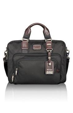 Tumi 'Alpha Bravo - Yuma' Slim Briefcase available at #Nordstrom