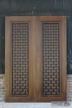Our Teak wooden doors are designed and manufactured by a team of designers from CareLine Studio with over 20 years experience in multiple countries including Europe U.A and Southeast Asia. - March 03 2019 at Wooden Main Door Design, Double Door Design, Front Door Design, Solid Core Interior Doors, Interior Barn Doors, Interior Shop, Glass Panel Door, Glass Front Door, Panel Doors