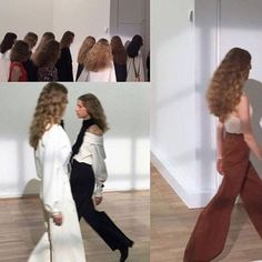 digital dress up 90s Fashion, Runway Fashion, High Fashion, Long Curly Hair, Curly Hair Styles, Summer Minimalist, Minimalist Outfits, Catwalk, Girly Things