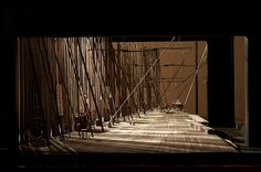Shadows The Cherry Orchard. Scenic design by Emil Kapelush. Stage Lighting Design, Stage Design, Alvin Ailey, Royal Ballet, Experimental Theatre, Theater, Art Vintage, Vintage Circus, Set Design Theatre