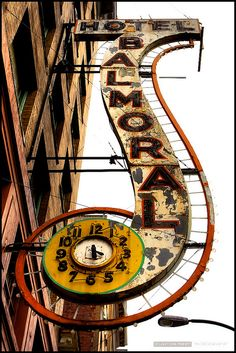 signs ~ Hotel Balmoral by Clayton Perry