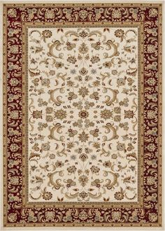 Loloi Rugs Welbourne 03IVRE Power Loomed Polypropylene Traditional Area Rug