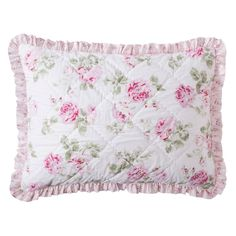 Simply Shabby Chic Garden Rose Quilted Sham - Standard
