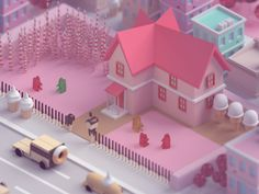 I made this one for the halloween contest but I never had the chance to finish the final details. Hopefully I'll finalize my entry the next contest Isometric Map, Isometric Design, 3d Design, Game Design, 3d Cinema, Low Poly 3d, 3d Artwork, Blender 3d, Motion Design