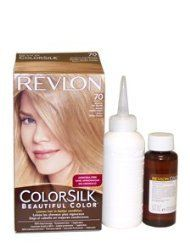 Colorsilk Haircolor -70 Medium Ash Blonde 7A by Revlon for Unisex - 1 Application Hair Color ** Continue to the product at the image link.