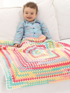 Craft this sweet as cream ice cream baby blanket for your little one. Lion Brand Ice Cream Tutti Frutti Baby Crochet Afghan   Michael's
