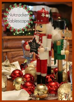 Love The Nutcracker? This stunning table's details are captured in photos that are accompanied by a retelling of The Nutcracker and the King of Mice! Click thru to read the whole story and to see all of the pretty details!
