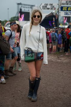 Pin for Later: See the Stars Who Came Out to Party at Glastonbury Chelsea Leyland