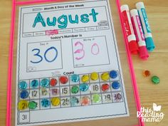 Hands on Calendar Time for the whole class -- and it's free!