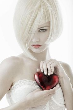 """.""""a heart"""" to give on wedding day...sorta cute..but very intense too.  """"Valentine's Day Wedding"""""""