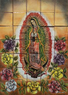 A Southern Tile Mural For Kitchen Backsplash And Bathroom Model Our Lady Of