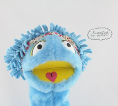 Awesome Hand Muppet Muppet arm rod puppet Performance by OhGustav