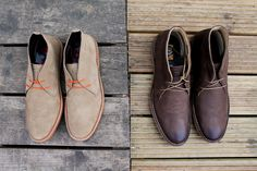 Base London Branch. With colours ranging from brown to blue, these desert boots go with almost any occasion. Available here http://www.desertboots.com/search/branch