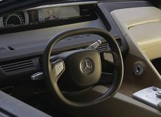Mercedes F 700 concept car interior