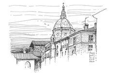 Piazza della Vittoria Pavia, Italy 04.10.2015
