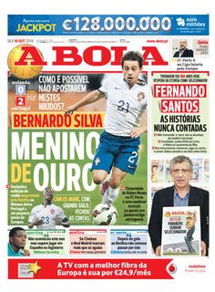 SPORTS And More: #UEFA U21 #Portugal #Benfica golden boy on loan to...