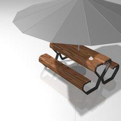 Sitzen mit kommunikativer Komponente Bänke gibt es wie Sand am Meer. Oder eben Sitzgelegenheiten in der Stadt. Wir wollten mehr als nur ein bisschen Holz zum Ausruhen und entwarfen drei Stadtmöbel,...