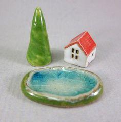 stoneware miniatures by elukka