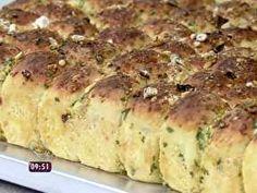 Pão de Bolinha de Alho - Foto de Mais Você na TV