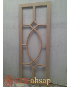 Ahşap Dekoratif Kapı | Wooden Decorative Door Flush Door Design, Grill Door Design, Door Gate Design, Wooden Front Door Design, Wood Front Doors, Wooden Doors, Pooja Door Design, Modern Door, Leaded Glass