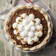 Nutella Icebox Pie - Yum! The Local Palate is the South's premier food culture publication.