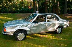 De deukentaxi, is één van de 4 taxi's, die onderdeel hebben uitgemaakt van de vermaarde Stuyvesant-collectie.   Wim T. Schippers.