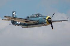 "Grumman TBF-1 (TBM-1) Avenger, ""Borate Bomber"""
