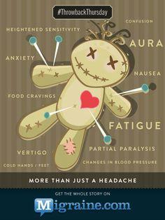 Migraine - more than a headache.