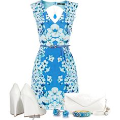 Oasis Belted Dress Contest 2 by amybwebb on Polyvore featuring polyvore, moda, style, Oasis, Jimmy Choo, Blue Nile, Sequin and Mali Sabatasso