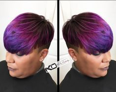 Love this color via @kohairartistry  Read the article here - http://blackhairinformation.com/hairstyle-gallery/love-color-via-kohairartistry/
