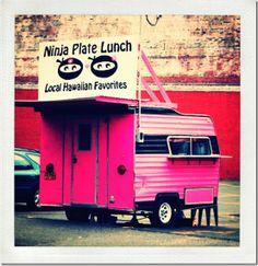 Portland food cart Portland Food Carts, Portland Street, Plate Lunch, Street Vendor, Tourist Sites, Love Food, Hawaiian, Oregon, Trucks