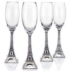 Eiffel Tower Flutes