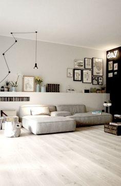 that sofa + that lighting...