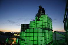 Heineken Open'er Festival Poland 2011,  construction creative idea, scenography and production Horeca Group