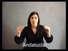Provincias de Andalucia en lengua de signos española hablemos con las manos - YouTube