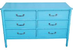 Henry Link Faux Bamboo Chest