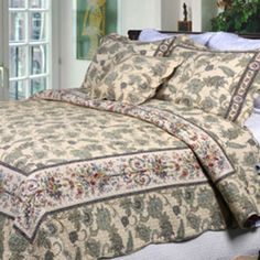 Shop for Florence Quilt Set. Free Shipping on orders over $45 at Overstock.com - Your Online Fashion Bedding Outlet Store! Get 5% in rewards with Club O!