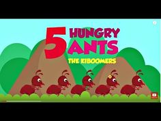 Count from with 5 Hungry Ants song for Preschoolers! Preschool Programs, Preschool Songs, Preschool Science, Kids Songs, Preschool Activities, Bug Songs, Number Song, Ant Crafts, Insects