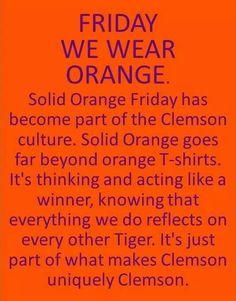 Solid Orange Friday
