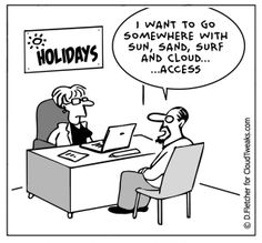 The Lighter Side Of The Cloud – Cloud Holiday