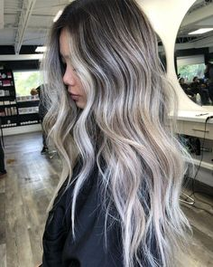 Blonde Asian Hair, Dark Blonde Hair Color, Blonde Hair Looks, Brown Blonde Hair, Hair Color And Cut, Ashy Hair, Asians With Blonde Hair, Cool Toned Blonde Hair, Black Hair