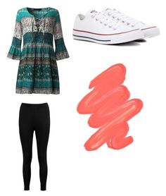 """Untitled #819"" by jamiesowers14 on Polyvore featuring Boohoo, Converse and Obsessive Compulsive Cosmetics"