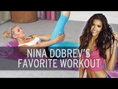 15JUN13 Yoga Workout: Abs Like Nina Dobrev. This was a great cool down.  You make it as challenging as you wish.