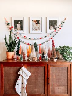 bottlebrush trees for Christmas decorating Bottle brush trees are trending this season—and we found the best ones on the market. Bohemian Christmas, Christmas Mood, Merry Little Christmas, Simple Christmas, Christmas Crafts, Whimsical Christmas, Modern Christmas, Xmas, Christmas Trees