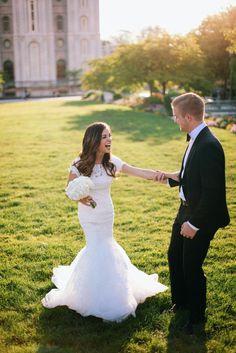 LDS Wedding Couple Photography