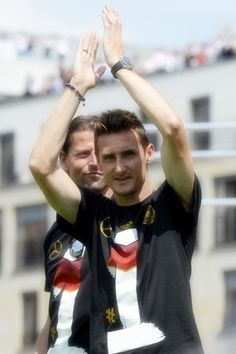 The Legend is home! Miroslav Klose at fanfest in Berlin :)